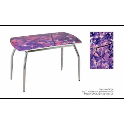 Стол обеденный Ирга от производителя Мебель из стекла