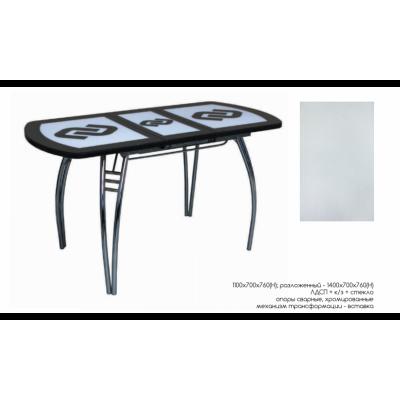 Стол обеденный раздвижной Каскад-2