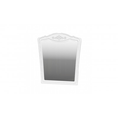 Зеркало настенное Лотос Белый