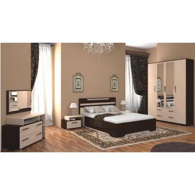 Кровать Прага от производителя Браво Мебель