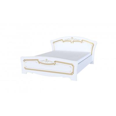 Кровать Магия белое золото